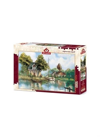 Art Puzzle Art Puzzle Eve Dönüş 1000 Parça Kutu Puzzle  Renksiz